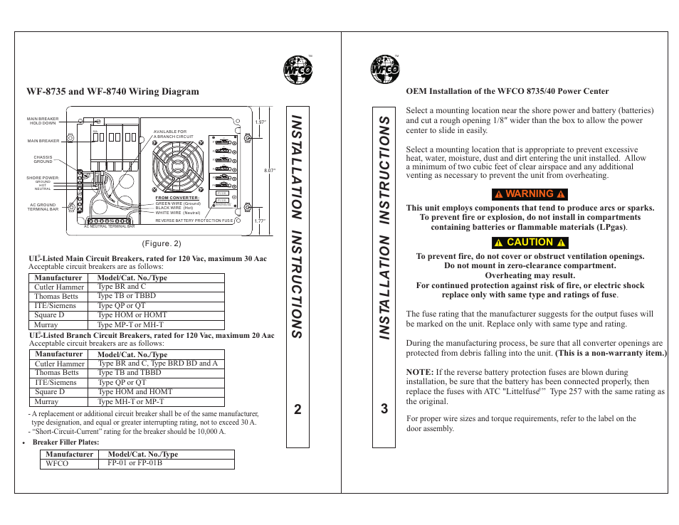 wfco wf 8740p page6 wf 8735 wiring diagram nalco 8735 msds \u2022 wiring diagrams wfco wf8735p wiring diagram at gsmx.co