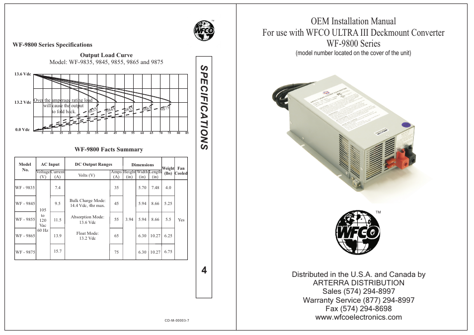 Sp e c if ic a t io n s | WFCO WF-9800 Series User Manual | Page 6 Wf Wiring Diagram on troubleshooting diagrams, switch diagrams, sincgars radio configurations diagrams, electrical diagrams, led circuit diagrams, lighting diagrams, motor diagrams, internet of things diagrams, smart car diagrams, battery diagrams, snatch block diagrams, transformer diagrams, engine diagrams, gmc fuse box diagrams, pinout diagrams, series and parallel circuits diagrams, honda motorcycle repair diagrams, electronic circuit diagrams, hvac diagrams, friendship bracelet diagrams,
