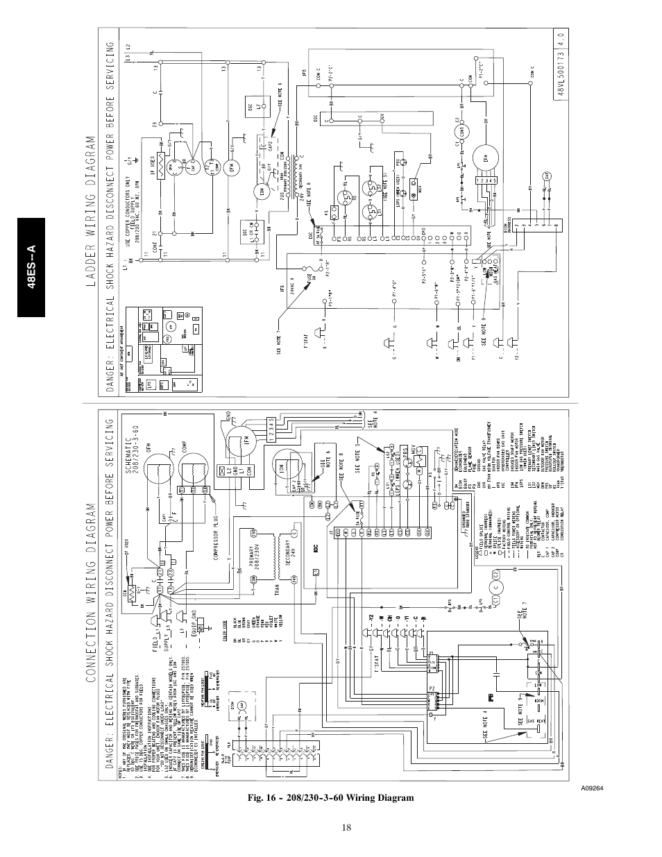 Carrier 48es Wiring Diagram Free Download Old Diagrams A User Manual Page 18 38 Heat Pump Contactor At