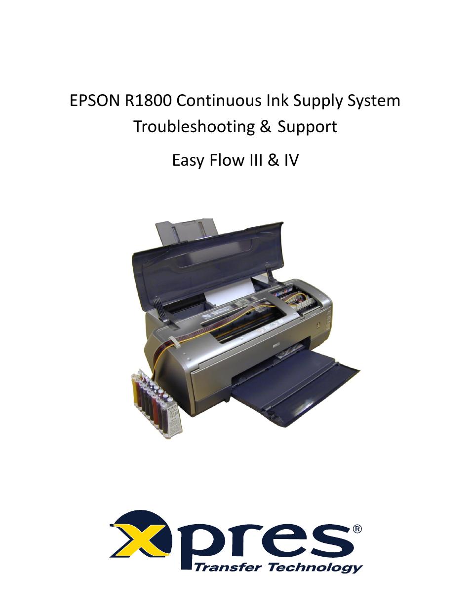 xpres subli print epson r1800 feeder system troubleshooting guide rh manualsdir com Epson Printer for Sublimation Printing epson r1800 printer driver download