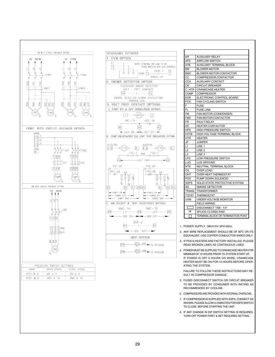 cooline-pt036l-page30  Sd Condenser Fan Motor Wiring Diagram on