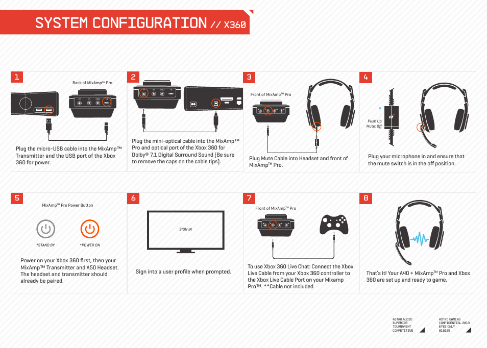 system configuration x360 astro gaming a40 mixamp pro user manual rh manualsdir com astro a40 mixamp guide astro a40 mixamp gen 1 manual