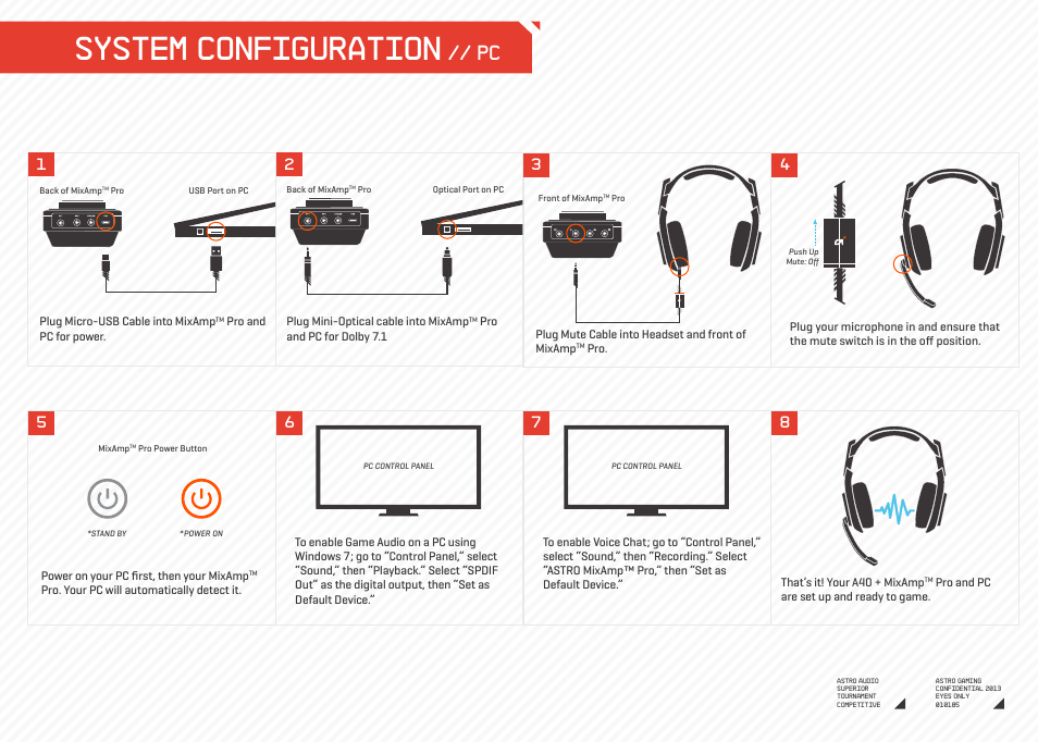 system configuration astro gaming a40 mixamp pro user manual rh manualsdir com astro a40 tr mixamp manual astro a40 mixamp gen 1 manual