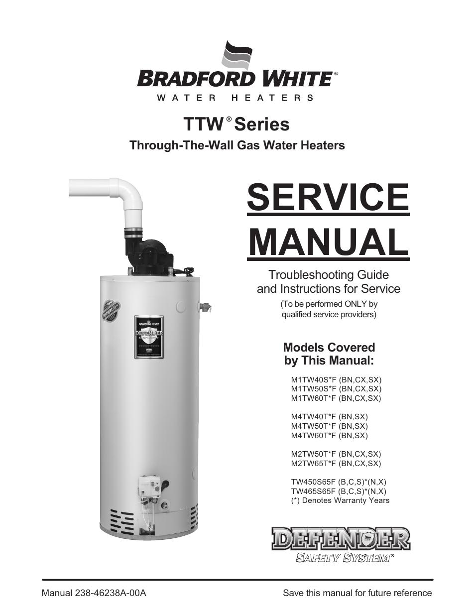 bradford white m 2 tw 75t6bn user manual 40 pages also for m 2 rh manualsdir com bradford white mi5036fbn service manual 75 Gallon Bradford White