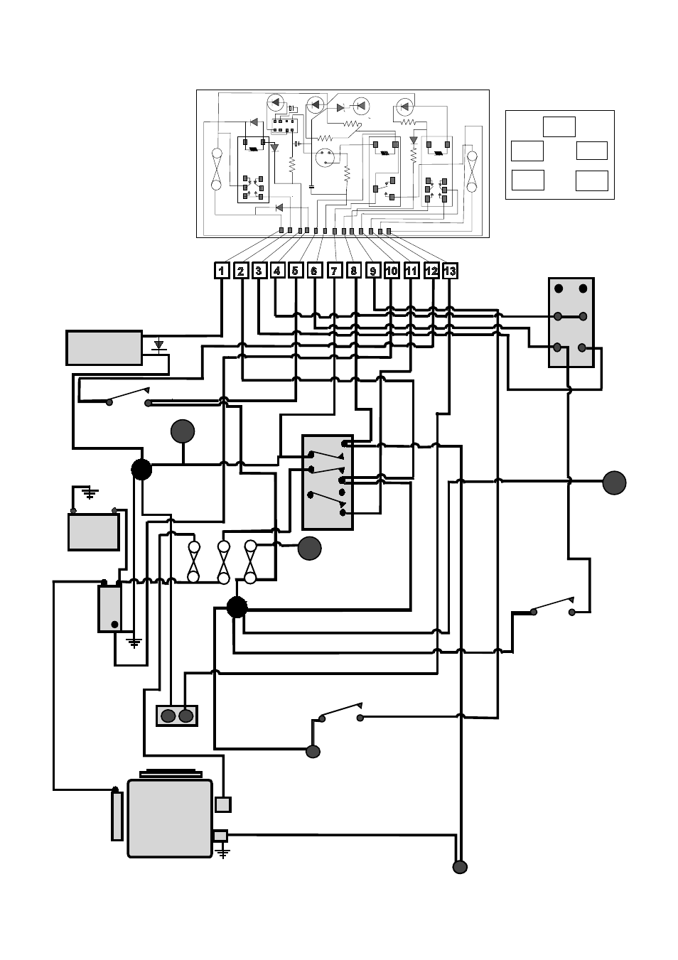 countax c60 wiring diagram detailed schematic diagrams rh redrabbit studios com lawn tractor wiring schematics tractor wiring diagram