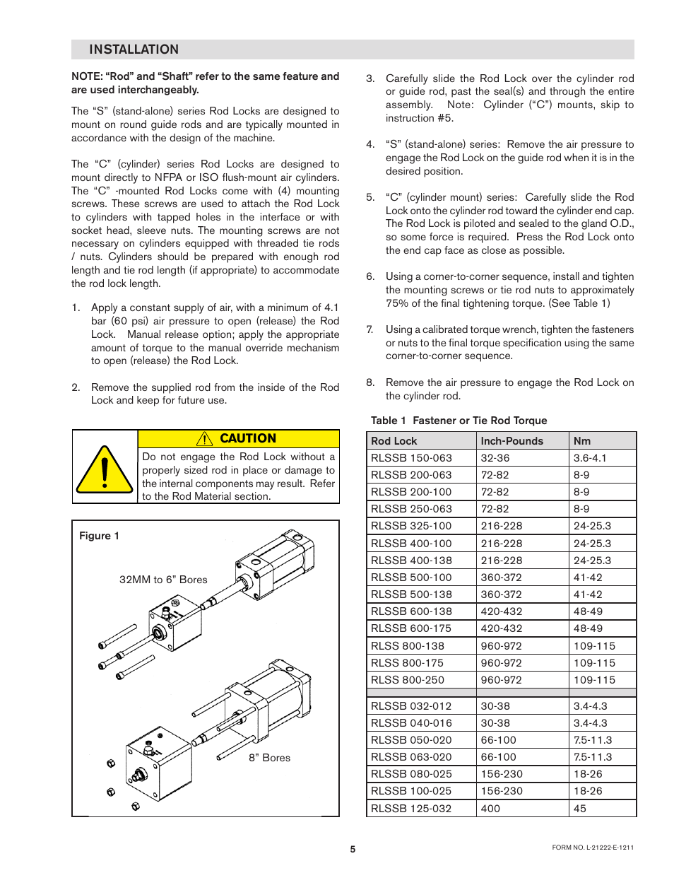 Nexen Rod Locks 966195 User Manual | Page 5 / 10 | Also for: Rod