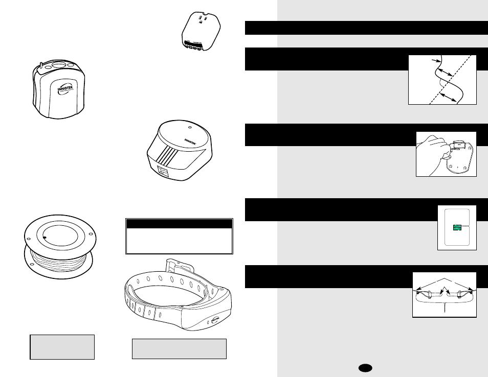 Step 3, Step 2, Step 1 | Petsafe Innotek UltraSmart Contain \'n ...