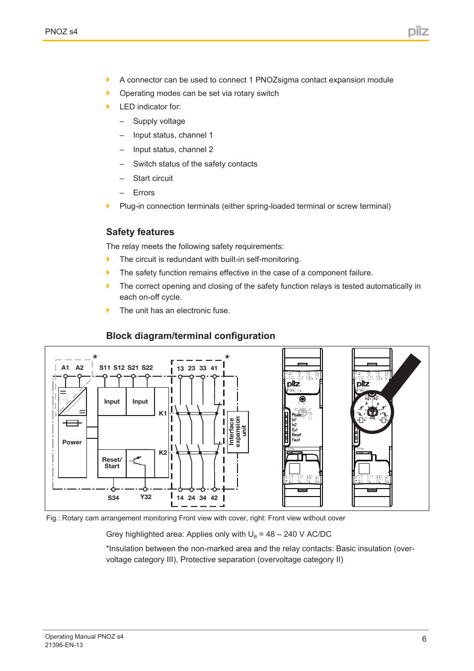 Pilz Safety Relay Wiring Diagram Pilz Circuit Diagrams
