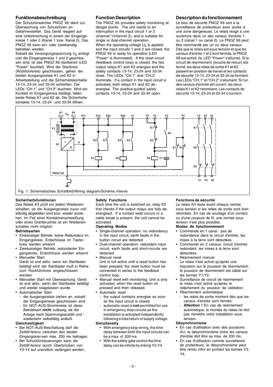 Pilz Pnoz X3 Schaltplan