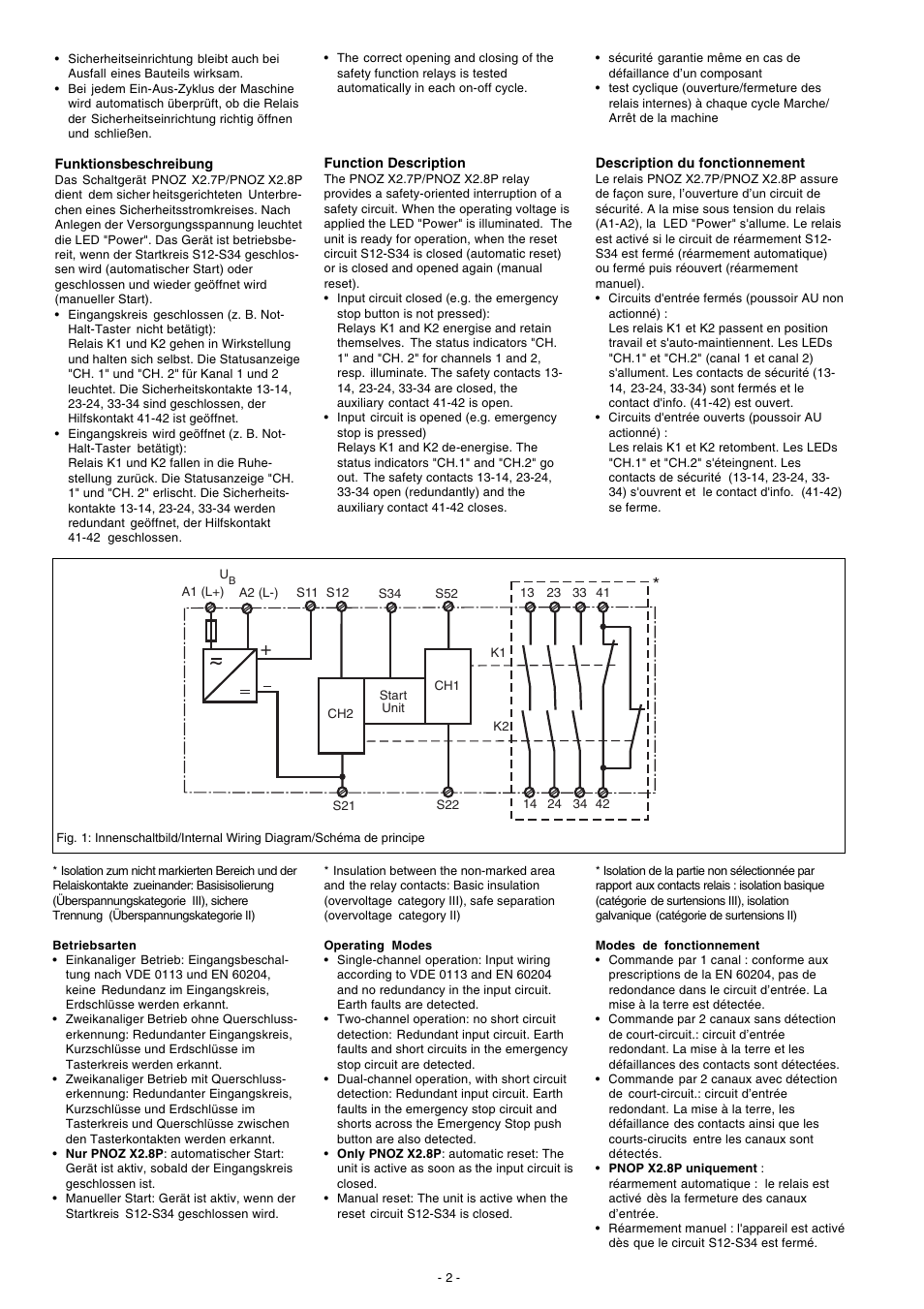 pilz pnoz x27p c 24 240vac_dc 3n_o 1n_c page2 pilz pnoz x2 7p c 24 240vac dc 3n o 1n c user manual page 2 20 pilz pnoz x2 wiring diagram at gsmx.co