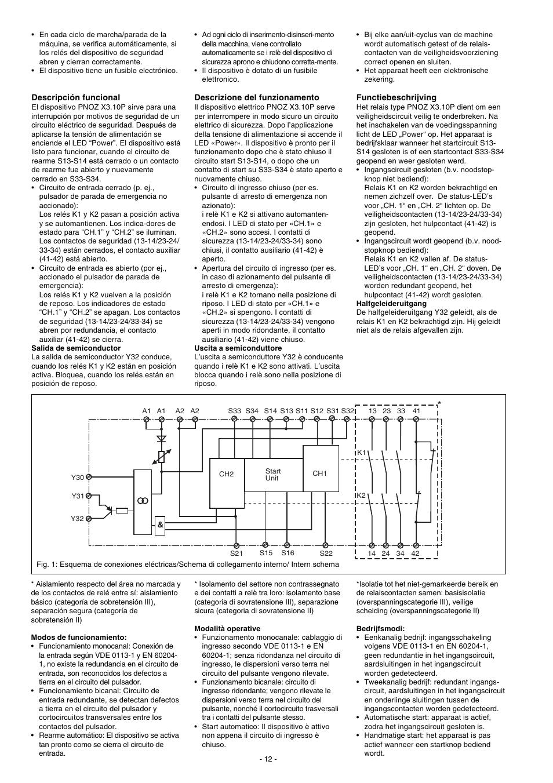 pilz pnoz x3 10p c 24vacdc 3n  o 1n  c 1so user manual