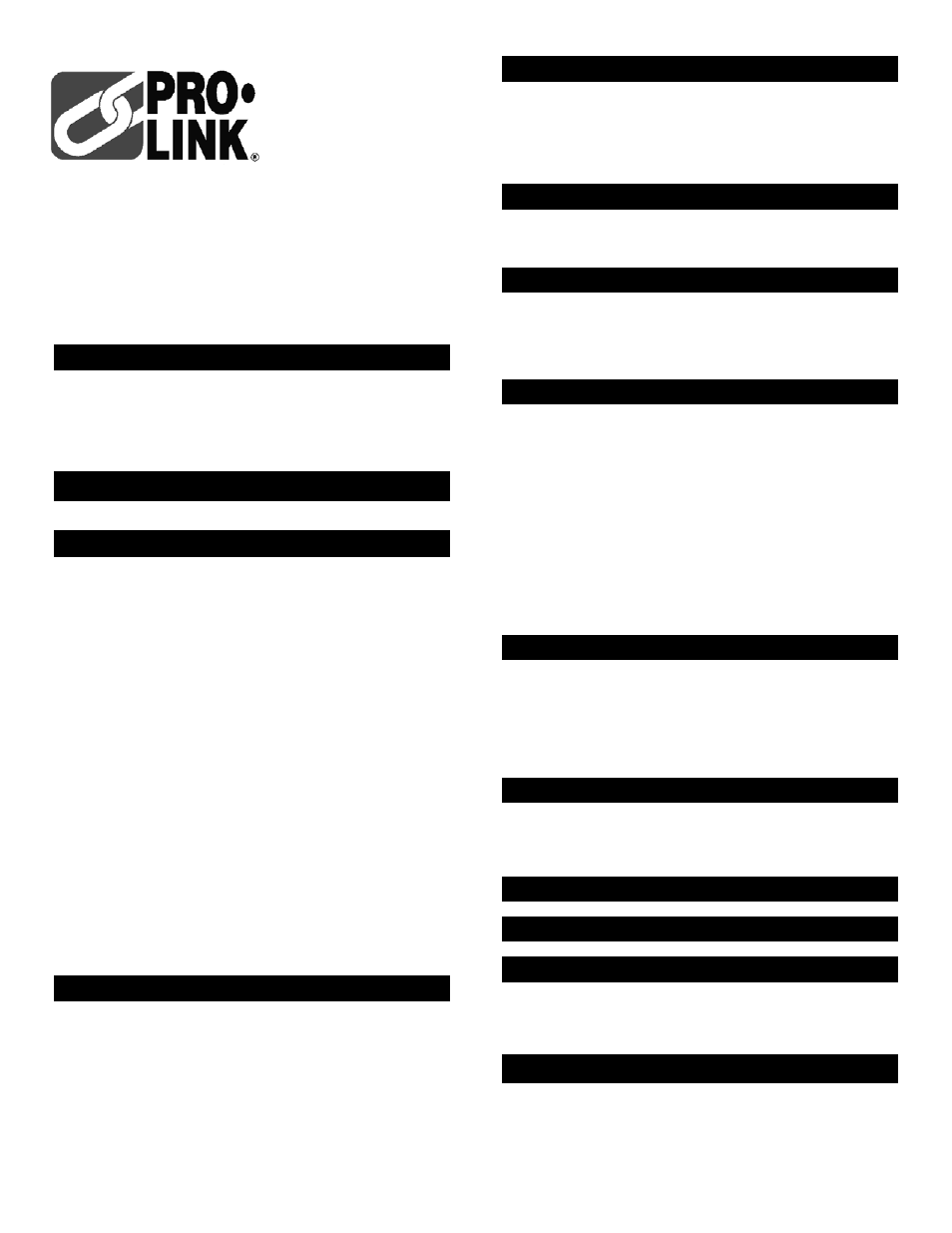 Pro-Link Stripper Booster 08668 User Manual | 2 pages