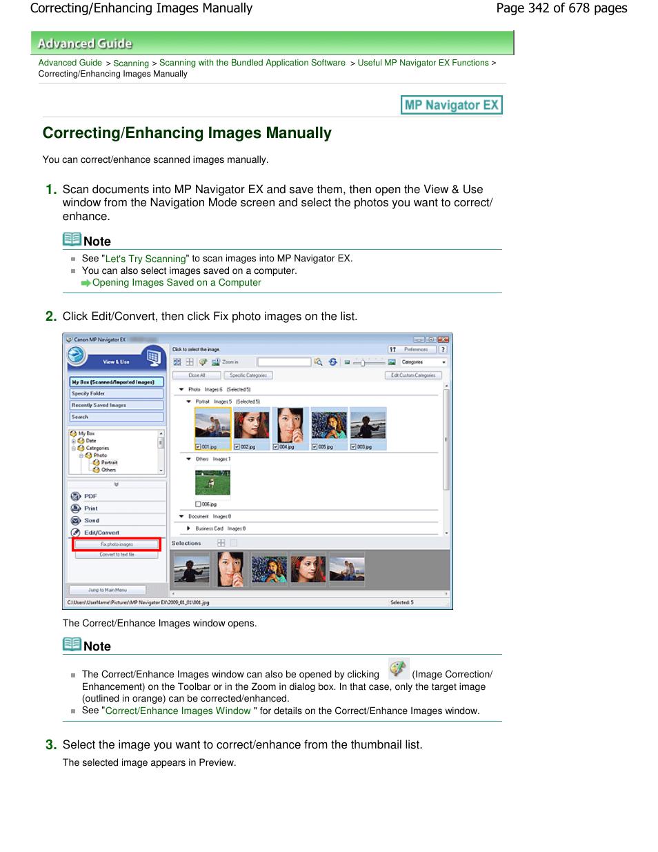 correcting enhancing images manually canon pixma mp250 user manual rh manualsdir com canon mp240 manual pdf canon mp250 manual service