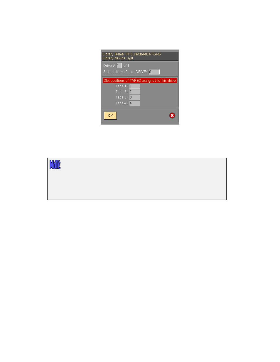 Define drive/tape slots | Storix Software SBAdmin User Guide User Manual |  Page 69