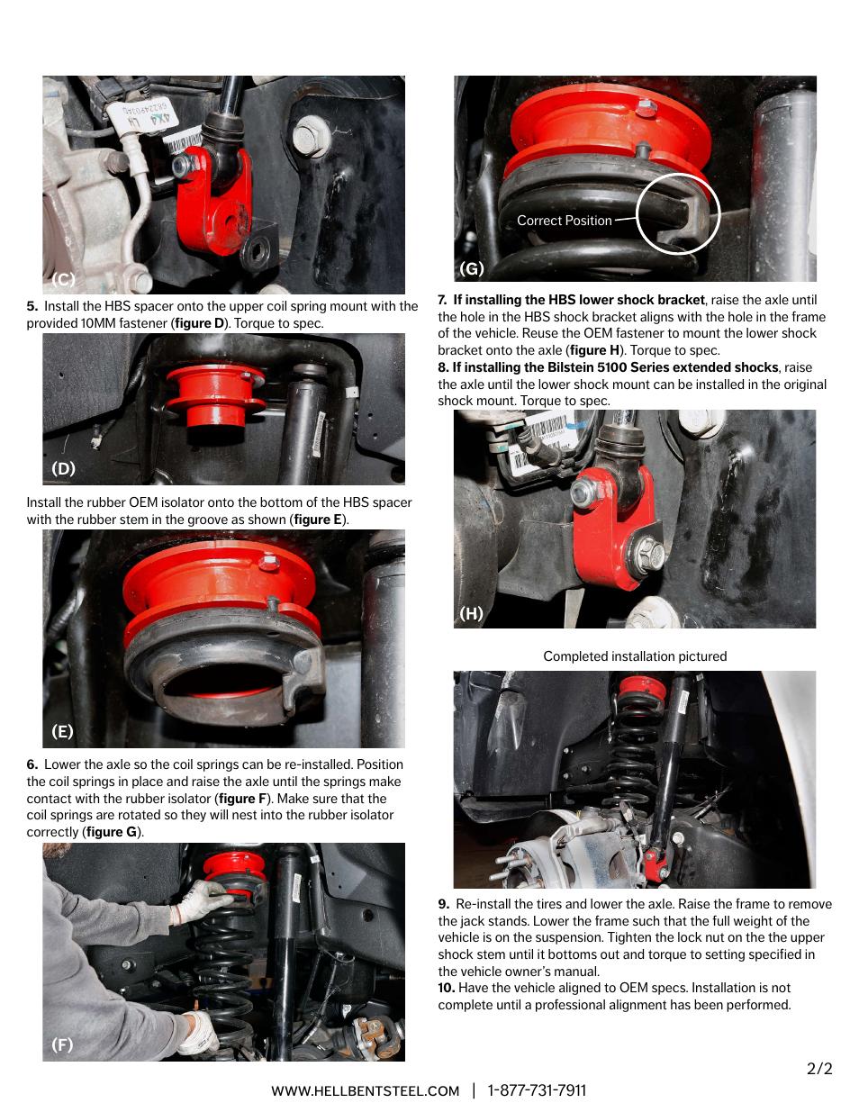 Hell Bent Steel 2014 + Dodge Ram 2500 & 2013 + 3500 4WD 2