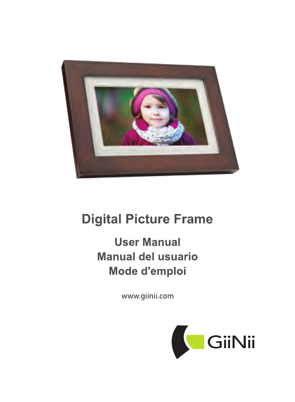 GiiNii GH-701P User Manual | 124 pages | Also for: GH-811P, GH-A12P ...