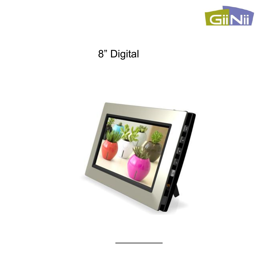 GiiNii GN-801W User Manual | 42 pages