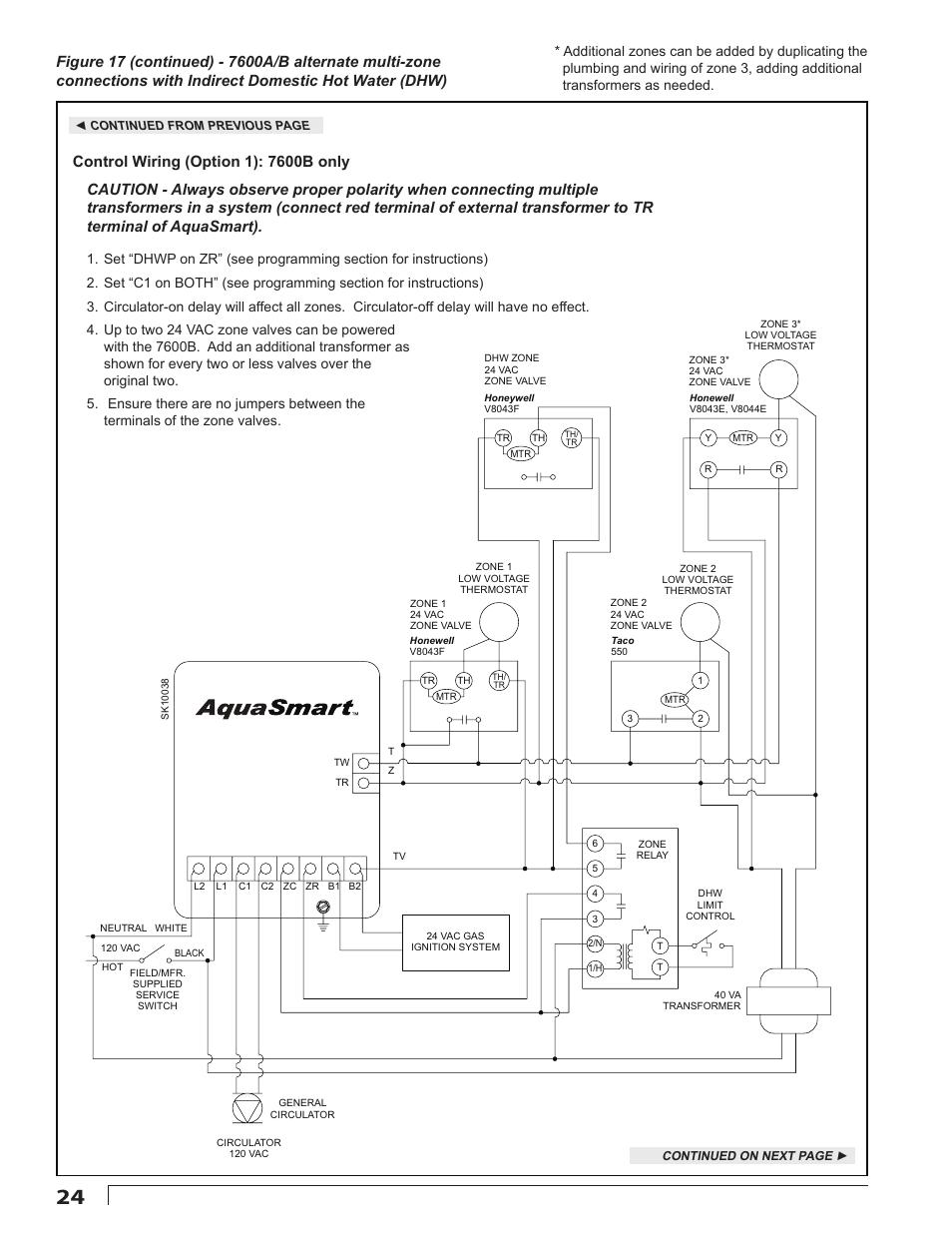 beckett 7600 aquasmart boiler control user manual page 24 36 rh manualsdir  com