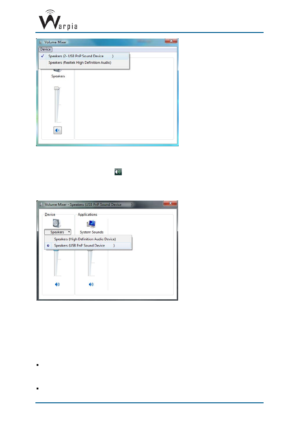 Led indications, 6 led indications | Warpia SWP200 Windows