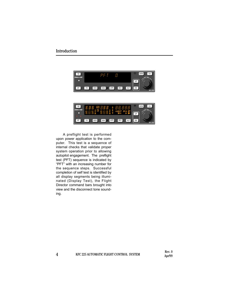 power application and preflight tests introduction 4 kfc 225 rh manualsdir com Bendix King Radio Schematic Bendix King KX 125