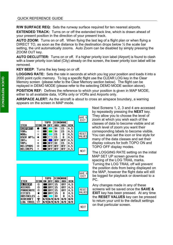 BendixKing SKYMAP IIIC User Manual | Page 40 / 155