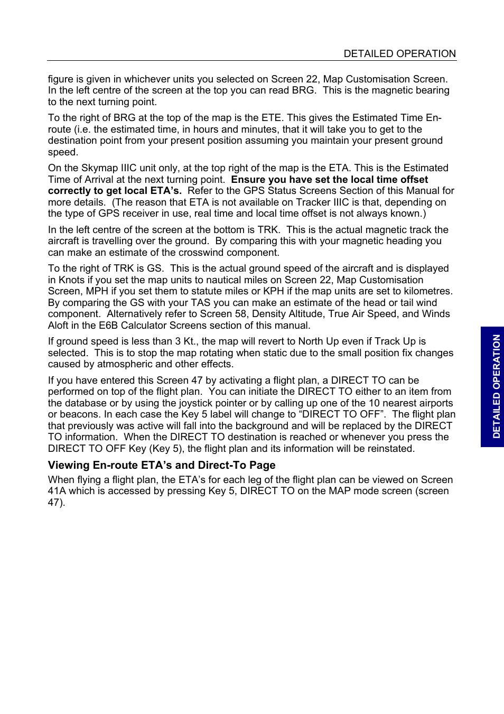 BendixKing SKYMAP IIIC User Manual | Page 83 / 155