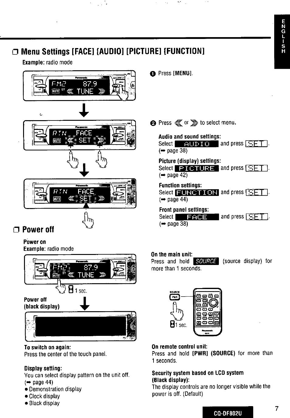 Funky Diagrama De Cd Player Panasonic Cq Rx200u Motif - Electrical ...