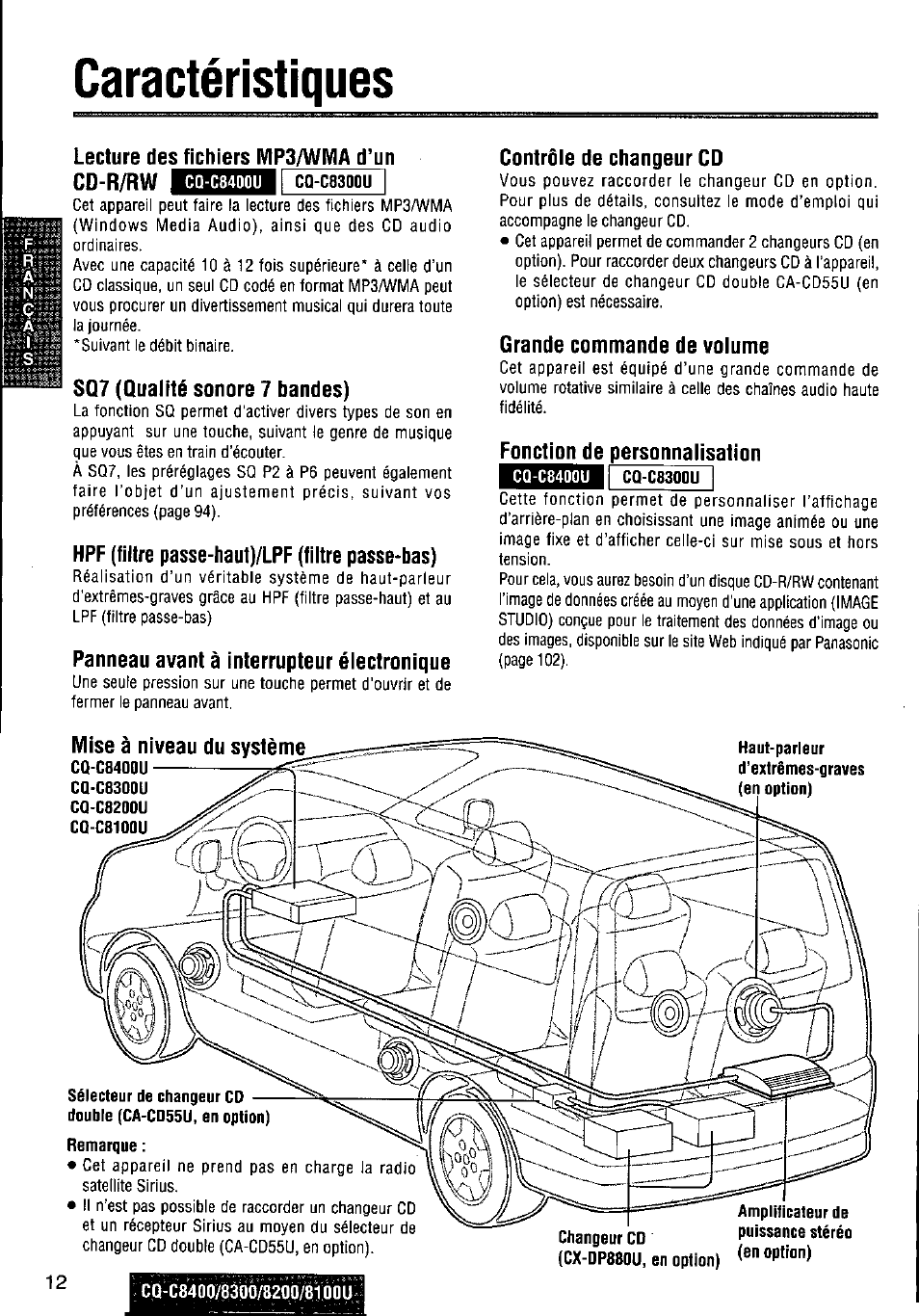 caract ristiques lecture des fichiers vip3 wma d un cd r rw cq rh manualsdir com Wiring Harness Diagram Wiring Harness Diagram