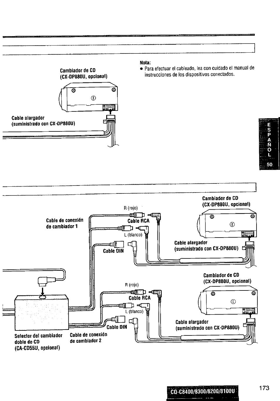 Panasonic Cq C8100u Wiring Diagram Online Schematics Car Stereo Also Cp134u C8300u User Manual Page 173 176 Original Mode
