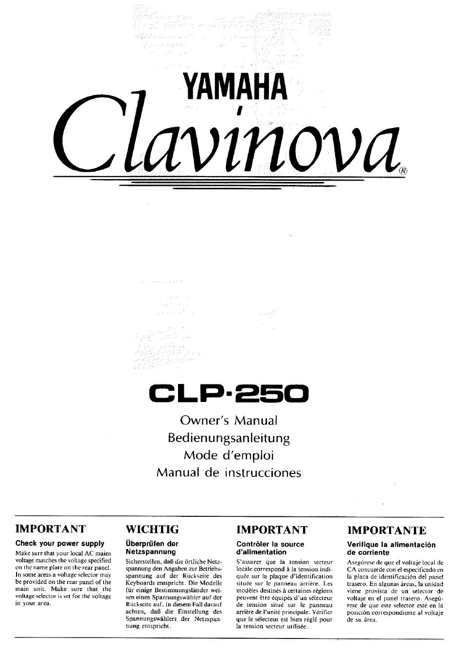 Yamaha Clp