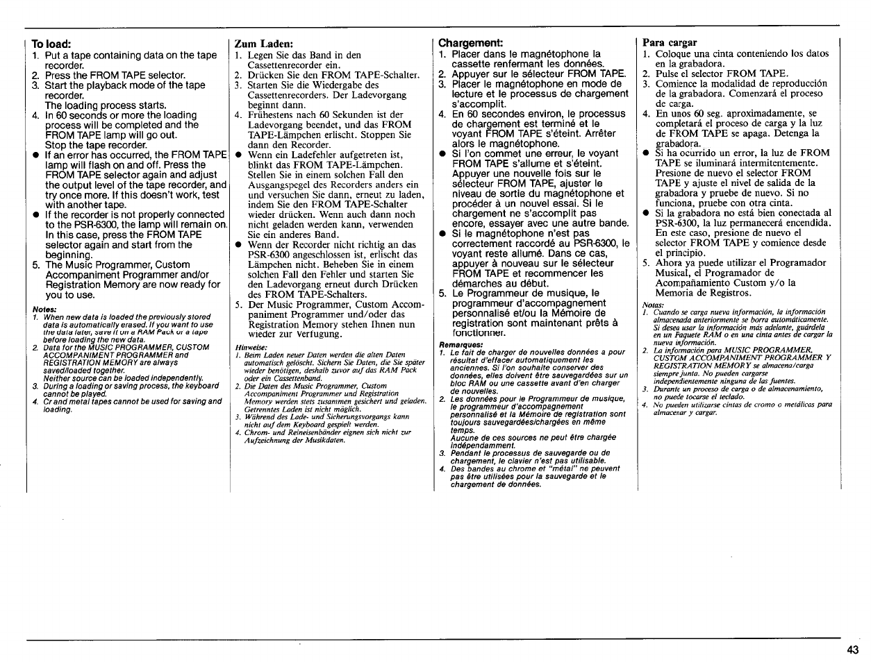 to load zum laden chargement yamaha psr 6300 user manual page rh manualsdir com Word Manual Guide User Guide Icon