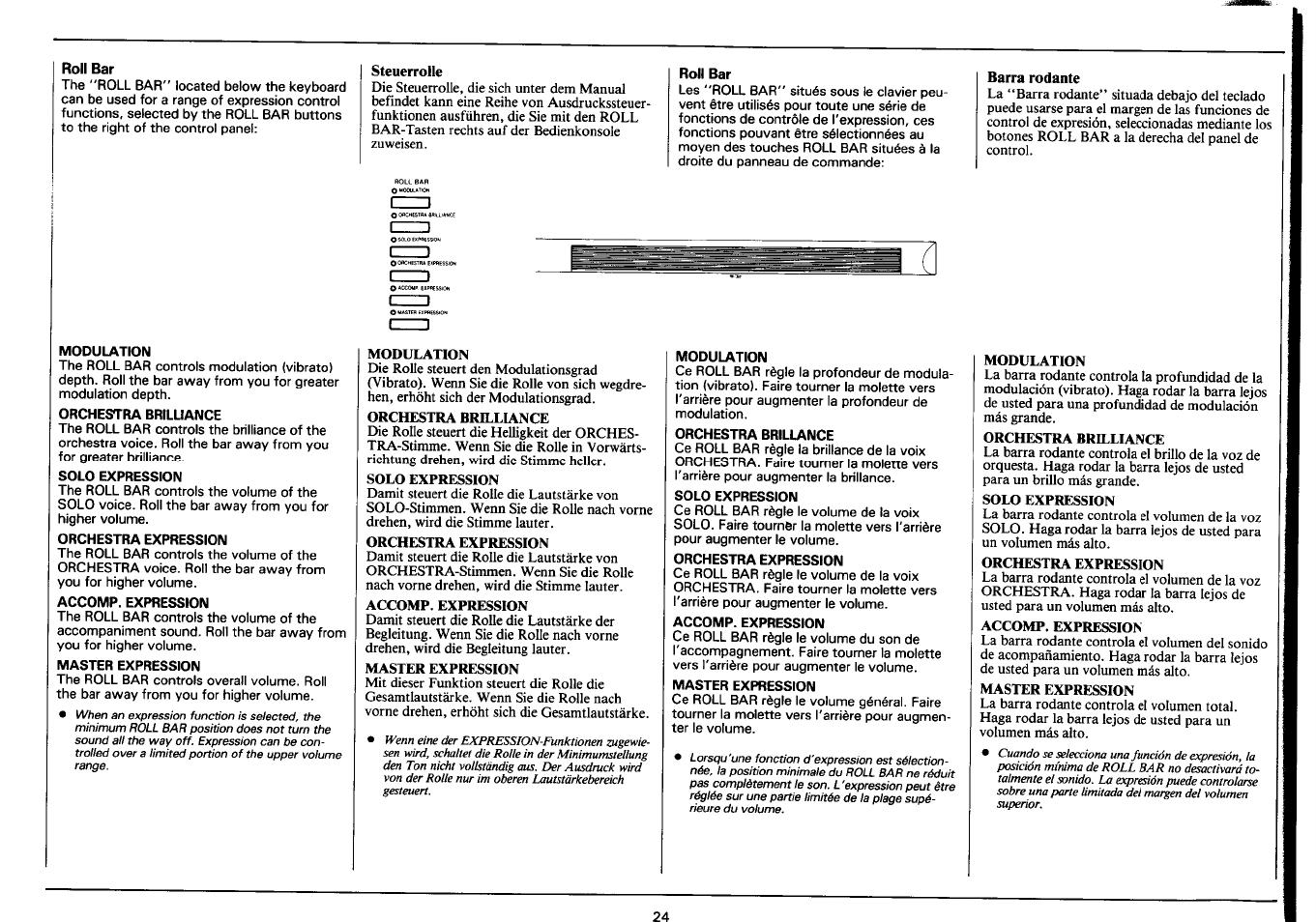 4500 Owners Manual Jayco Skylark Fuse Box Location Array Roll Bar Steuerrolle Yamaha Psr User Page 26 48 Rh Manualsdir Com