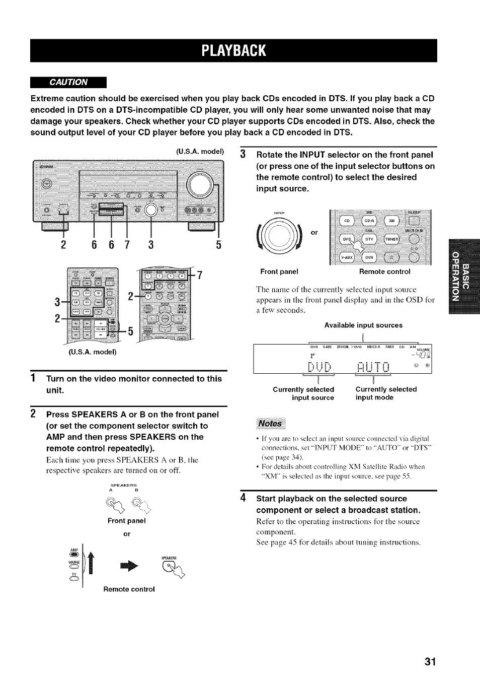 playback dud hutu yamaha htr 5950 user manual page 35 116 rh manualsdir com Yamaha HTR 4065 Manual yamaha htr 5950 manual