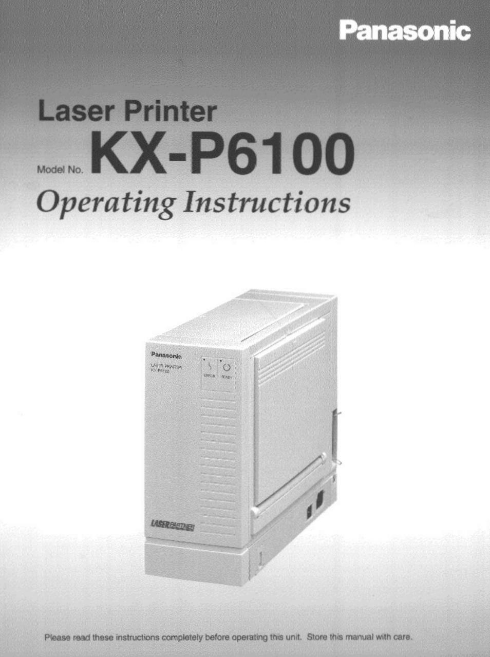 panasonic kx p6100 user manual 44 pages rh manualsdir com Panasonic Technical Support Panasonic Cordless Phones