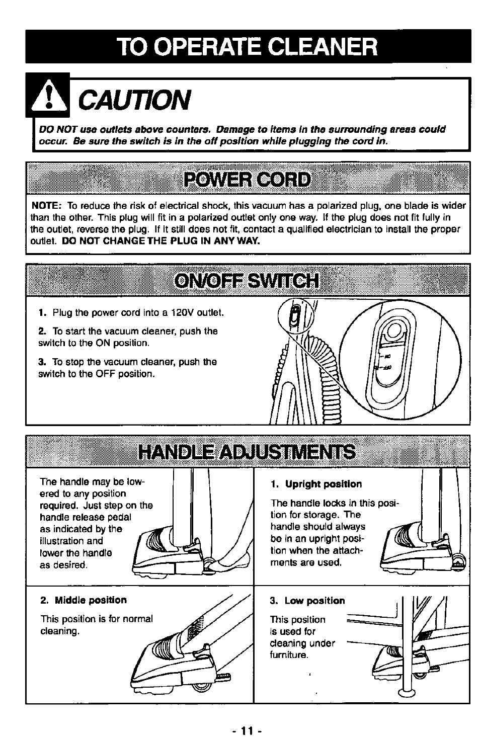 to operate cleaner on off switch upright position panasonic mc rh manualsdir com Panasonic Cordless Phone KX-TG155SK User Manual Panasonic Cordless Phone KX-TG155SK User Manual