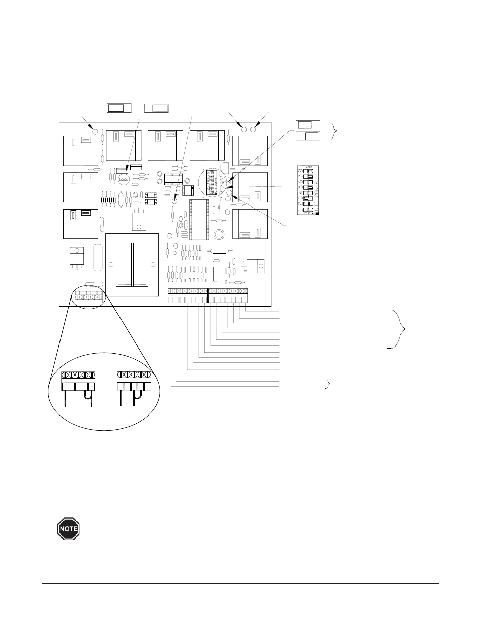 Ccrp Circuit Board Configuration Diagram Steffes Comfort Control 120 Volt Led Light Wiring Relay Panel User Manual Page 6 15