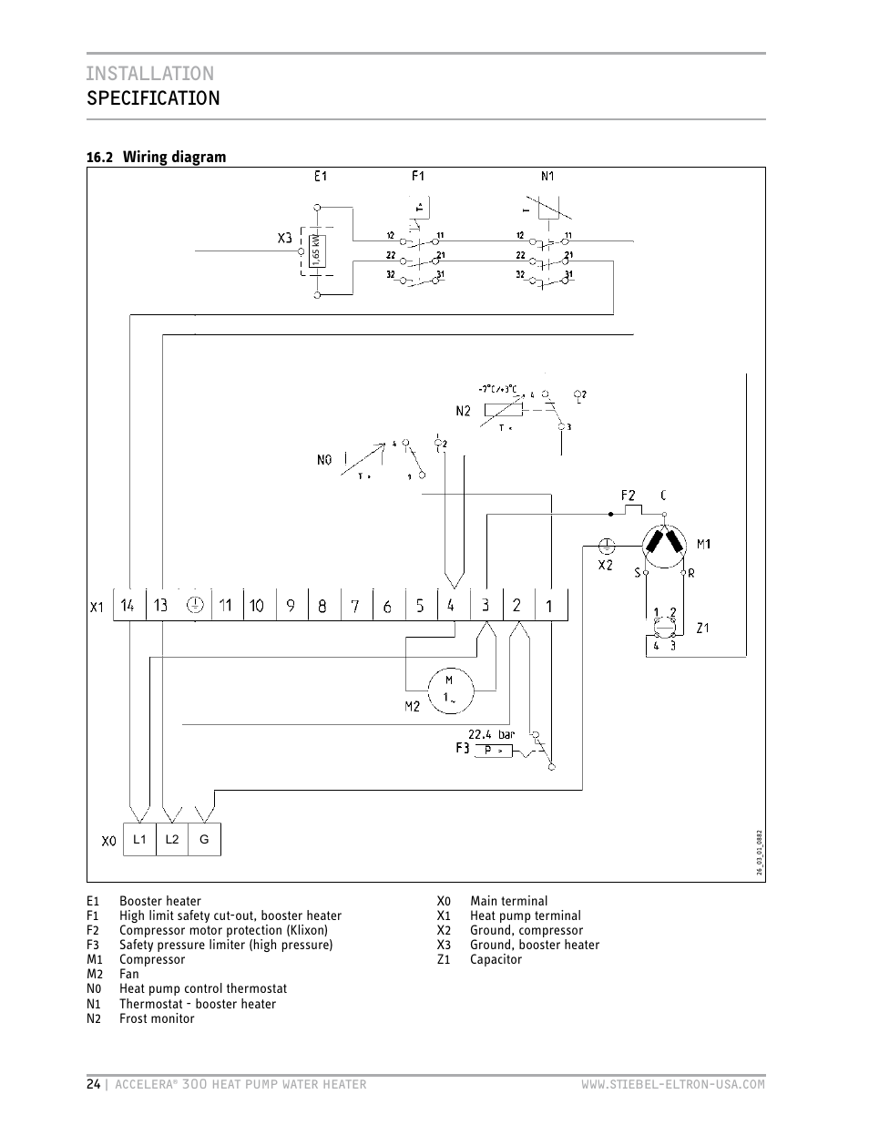 Stiebel Eltron Wiring Diagram