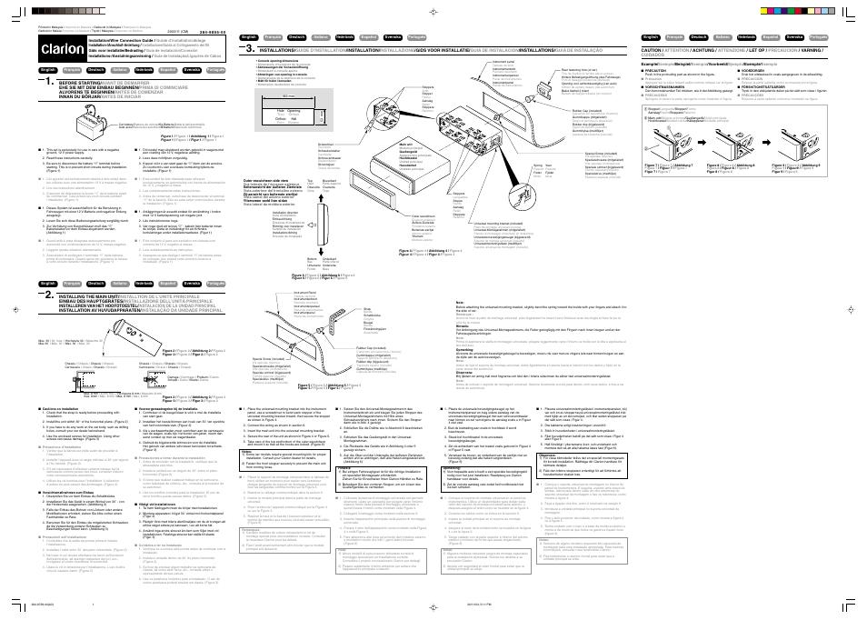 clarion db348rmp manual online user manual u2022 rh pandadigital co clarion db155 owners manual clarion cz307au owners manual