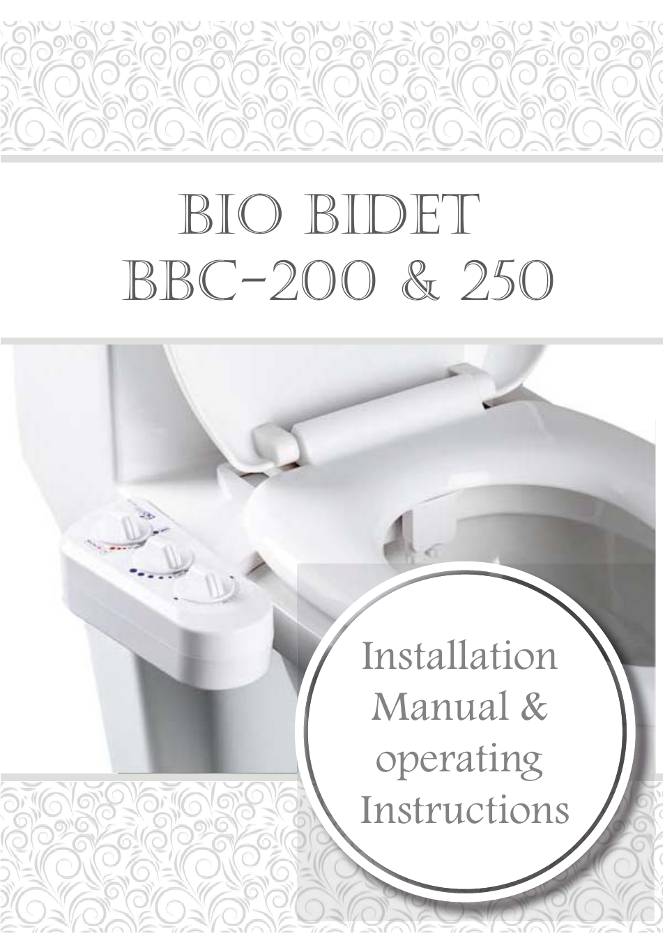 Bio Bidet Installation Instructions.Bio Bidet Envie Bidet Attachment Bb 200 User Manual 13 Pages