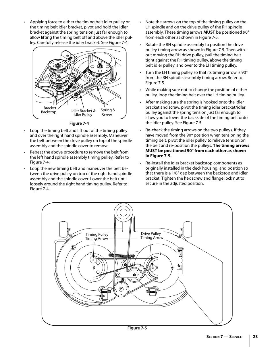 cub cadet i1042 user manual page 23 56 original mode rh manualsdir com Cub Cadet I1046 cub cadet i1042 zero turn manual