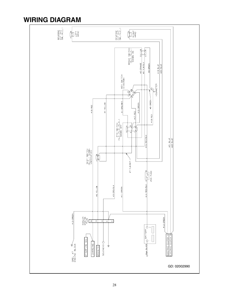 Force Outboard Ignition Wiring Diagram