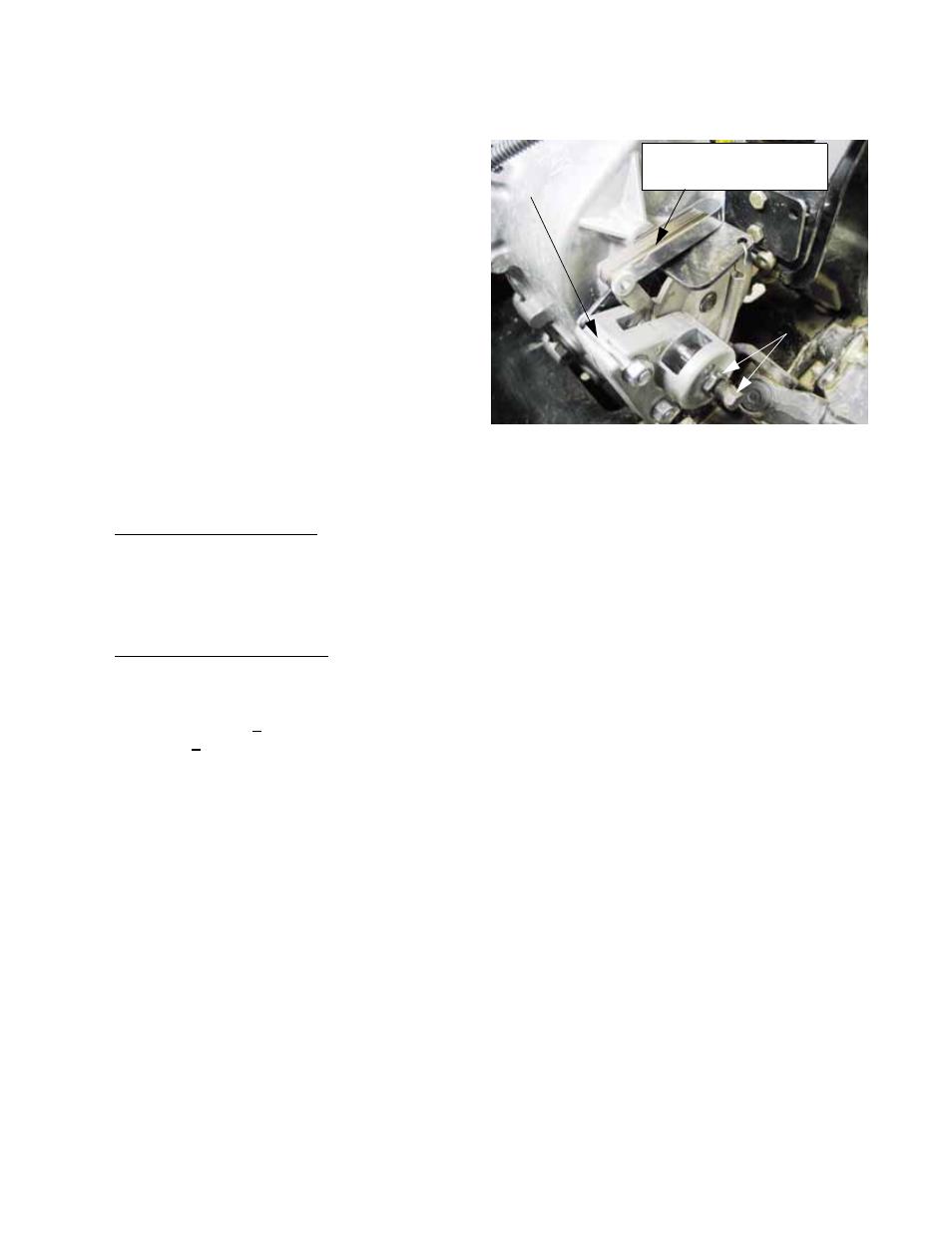 Drive system adjustment: parking brake, Chapter 2- drive system: cvt and  transfer case | Cub Cadet 4 x 4 Volunteer User Manual | Page 26 / 328