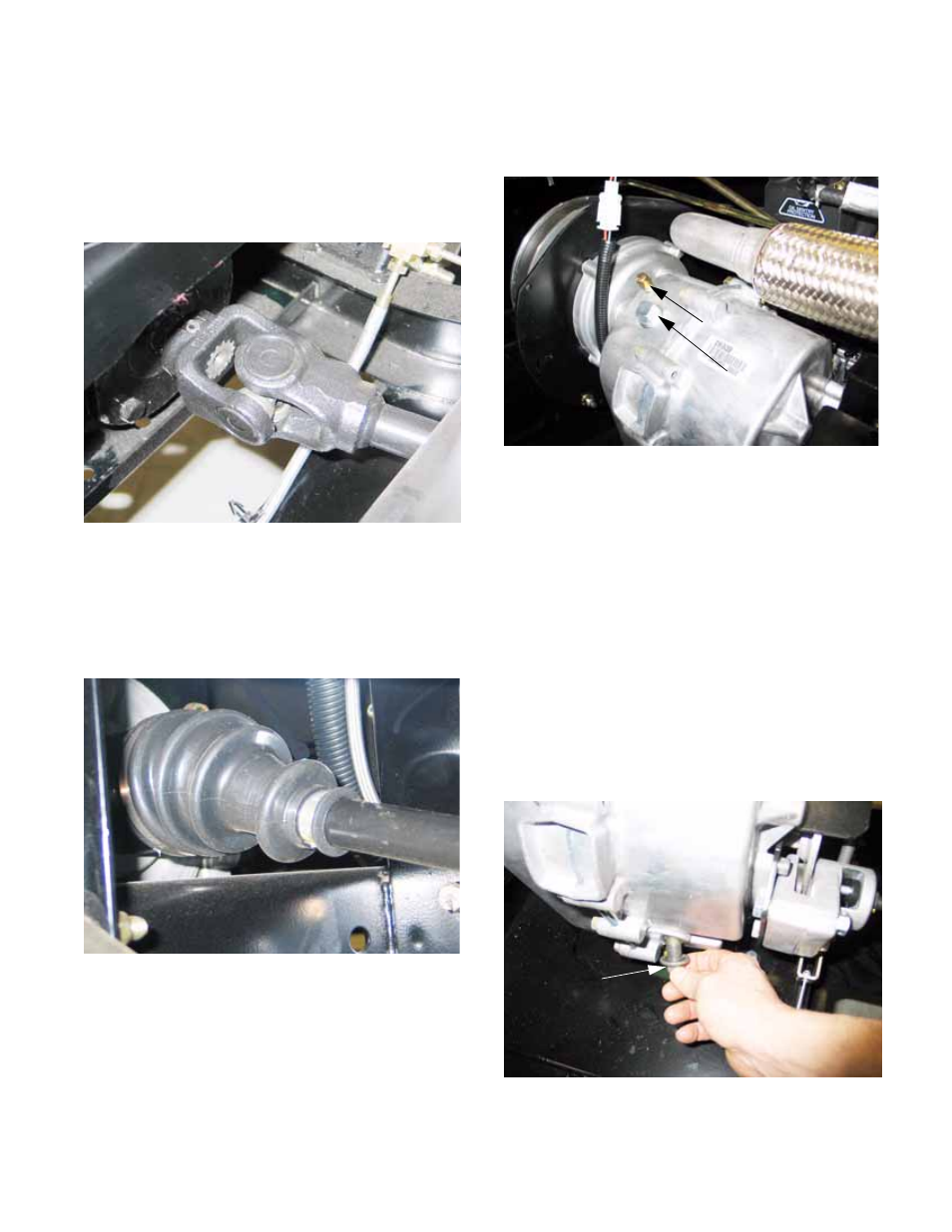 Drive system service: lubrication, Chapter 2- drive system: cvt and  transfer case | Cub Cadet 4 x 4 Volunteer User Manual | Page 29 / 328