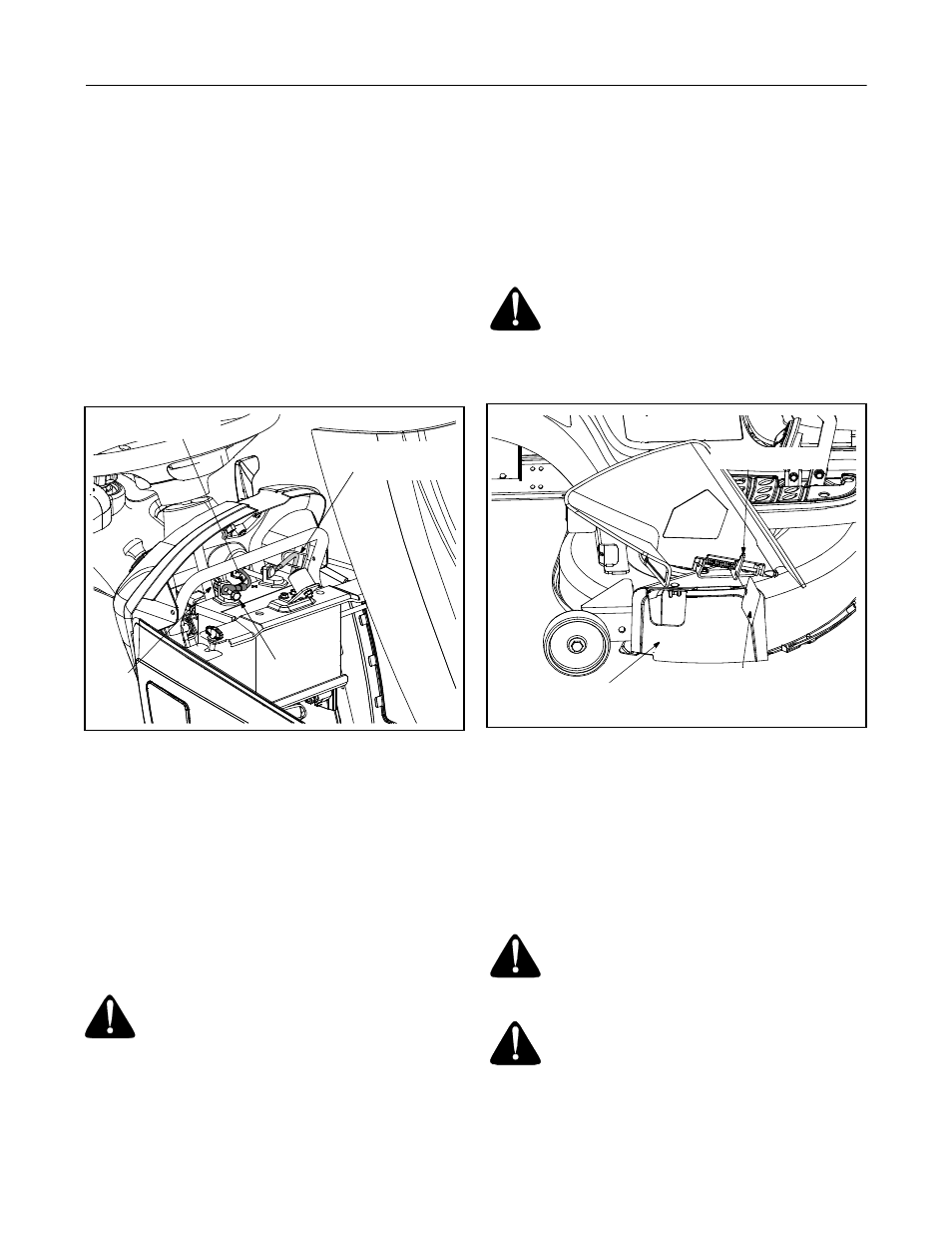 attaching the battery cables gas and oil fill up shipping brace rh manualsdir com Cub Cadet Zero Turn Manuals 1961 Cub Cadet Original Manual