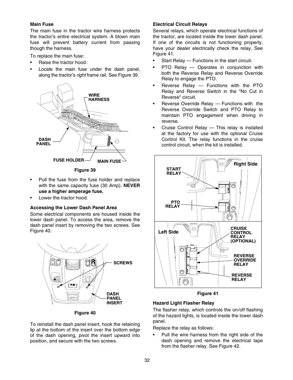 Cub Cadet 5252 User Manual | Page 32 / 48