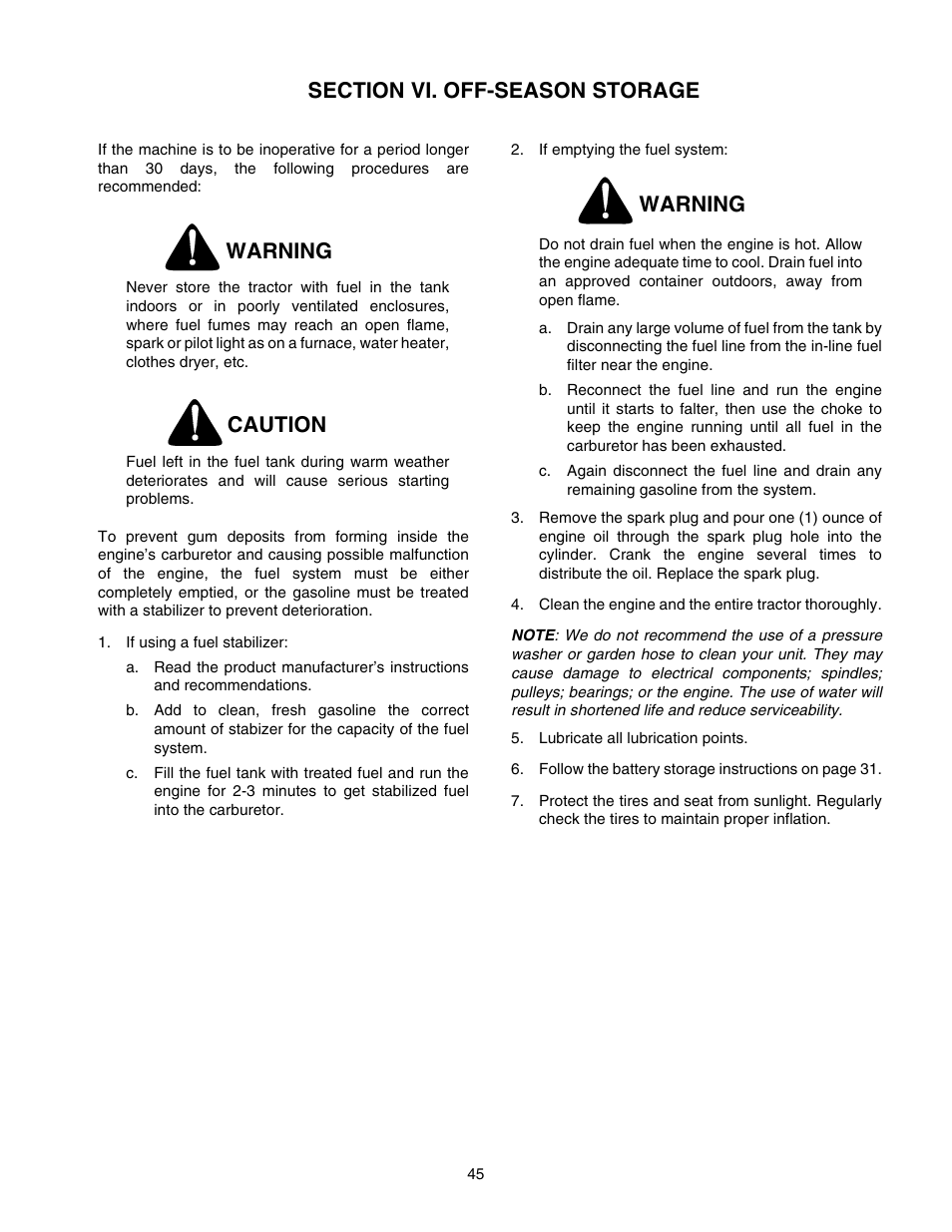 Cub Cadet Gt2550 Problems Wiring Diagram Warning Caution User Manual Page 954x1235