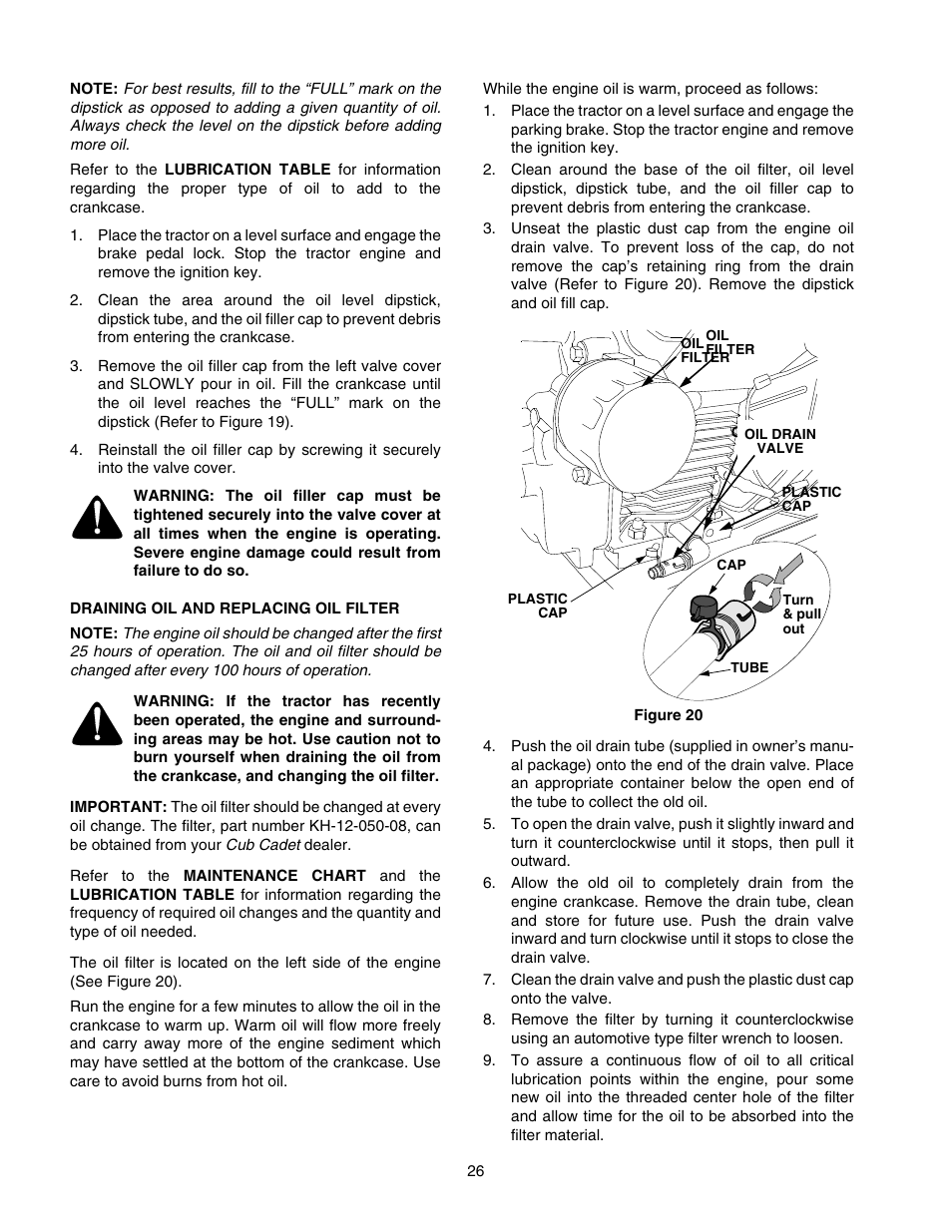Cub Cadet Gt 2550 Owners Manual Enthusiast Wiring Diagrams Gt2550 Diagram User Page 26 56 Rh Manualsdir Com 2006 Tractor Lt 1554 Parts