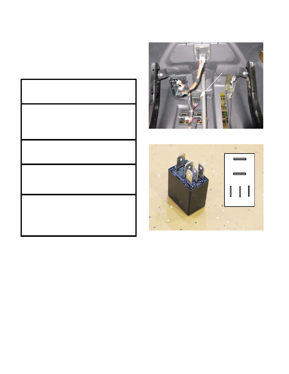 Pto Relay Cub Cadet Sltx1000 Series User Manual Page 156 278 Common Terminal In