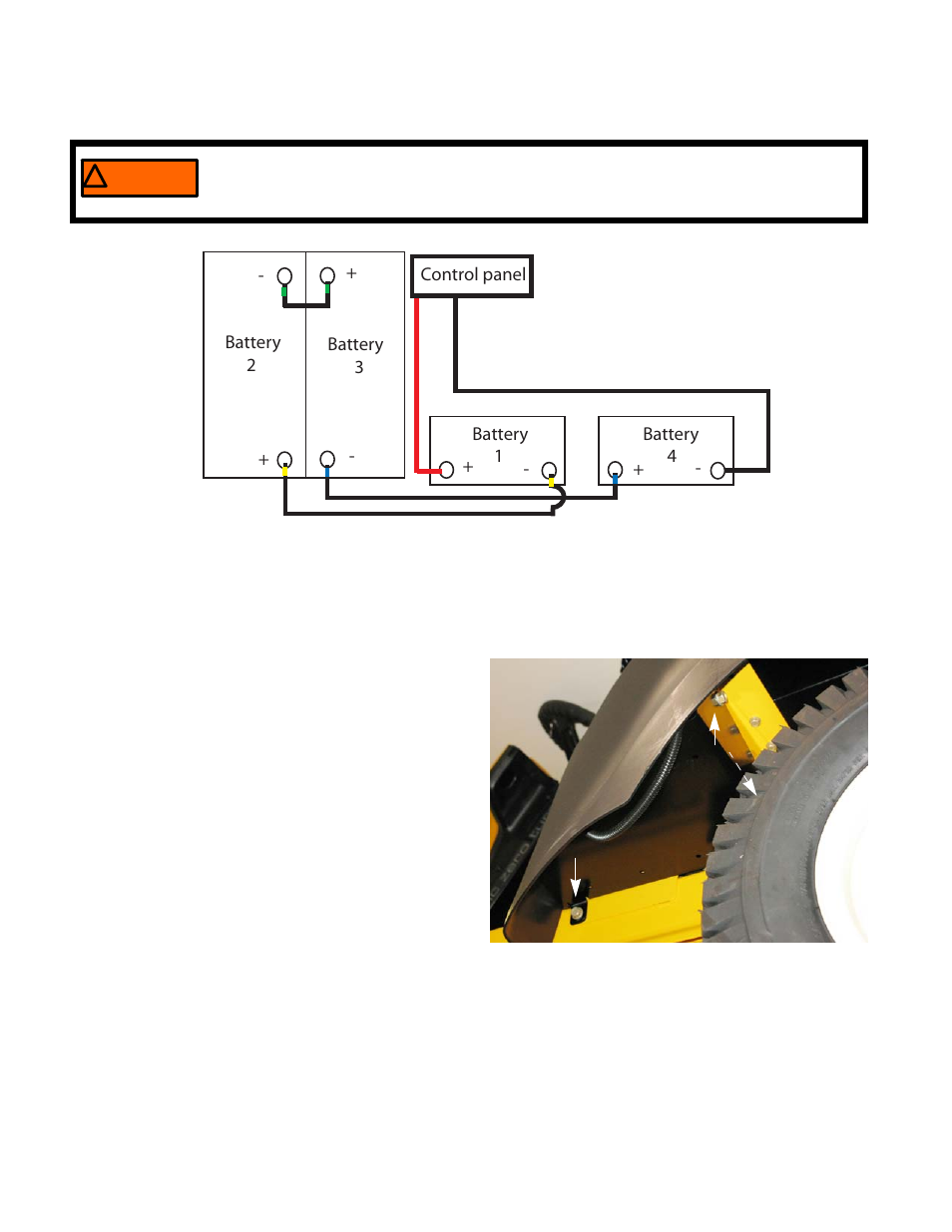 Battery Removal Installation Cub Cadet Rzt S Zero Electric User 124 Wiring Diagram Manual Page 122 156