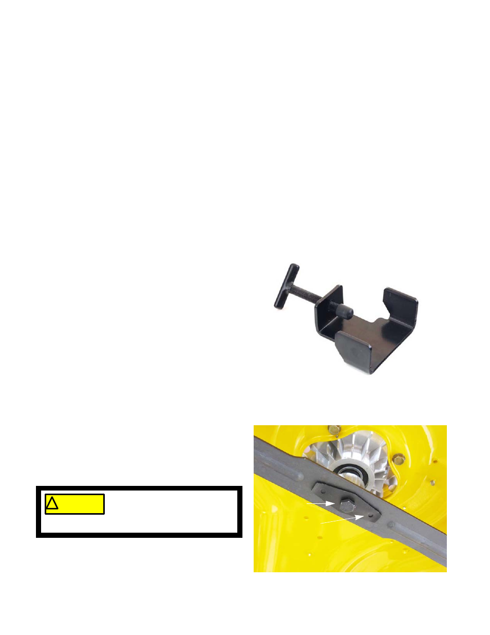 Blades, Blade removal | Cub Cadet RZT-S Zero Electric User